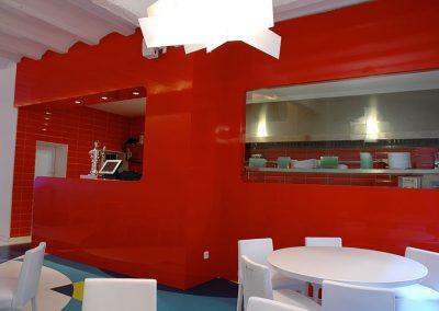 Mobiliario restaurante Boing boing