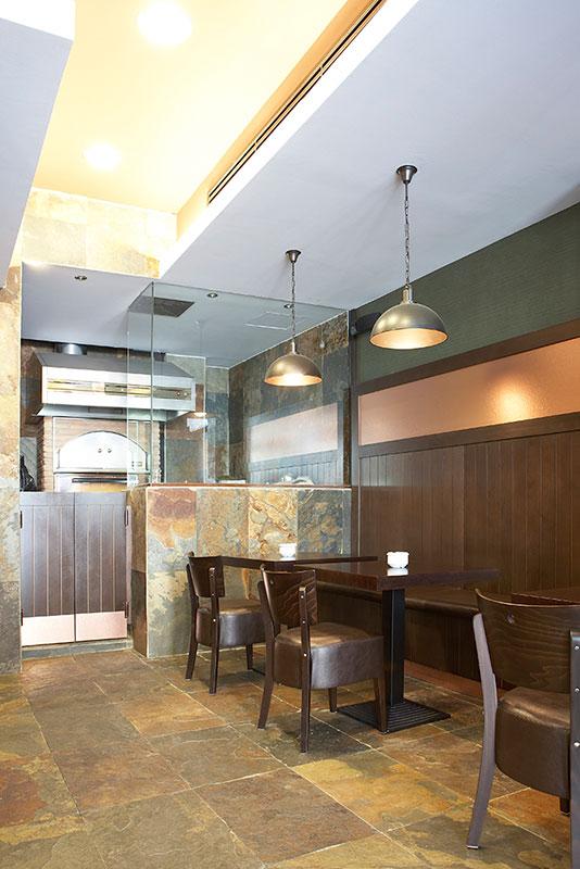 Proyecto restaurante ascuas pauferro muebles para for Restaurante madera
