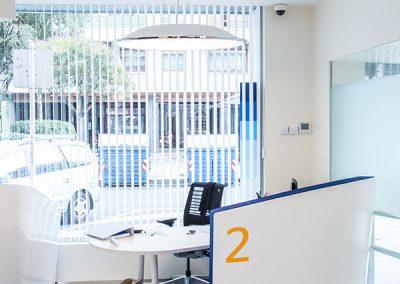 Mobiliario instalaciones BBVA - Pauferro
