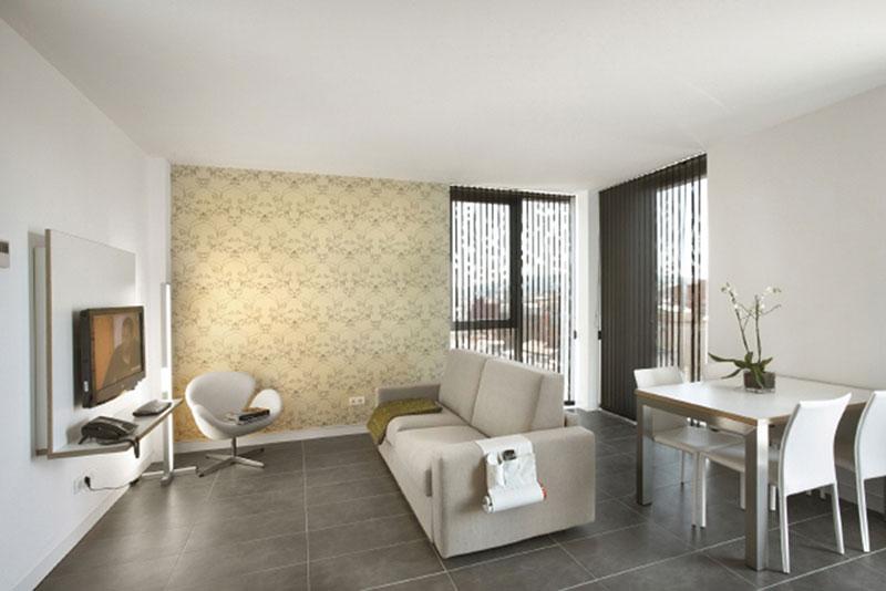 Apartahotel just style barcelona mobiliario comercial for Mobiliario barcelona