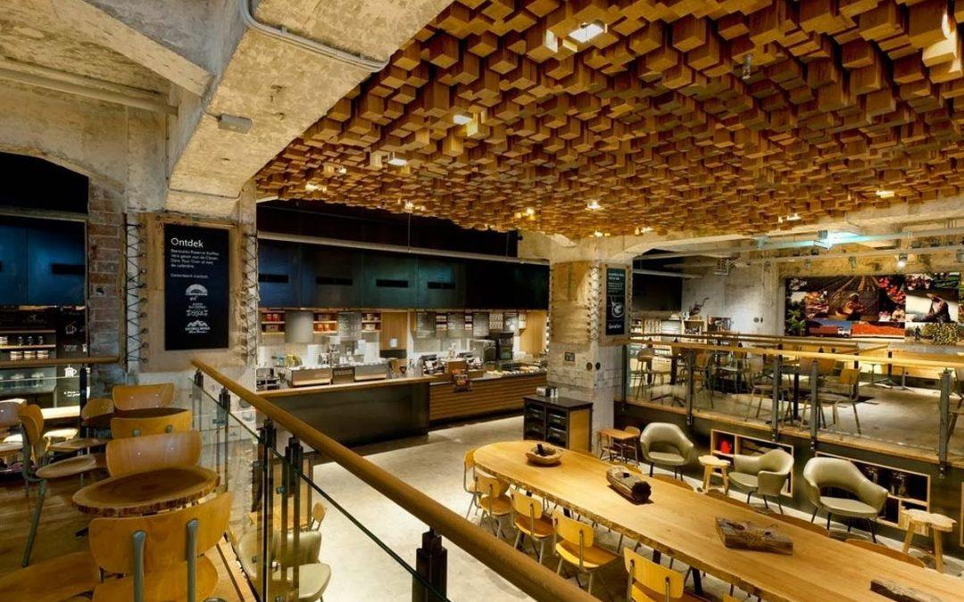 Mobiliario de franquicias: Starbucks