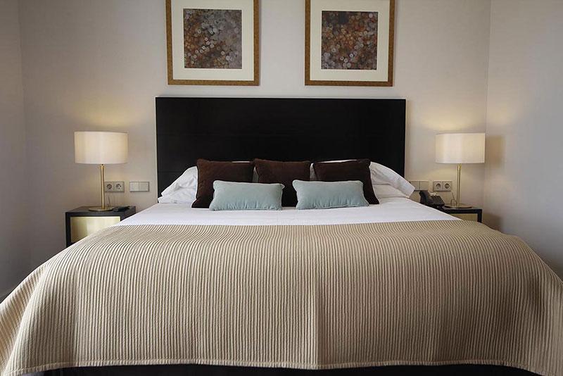 El mobiliario para hoteles