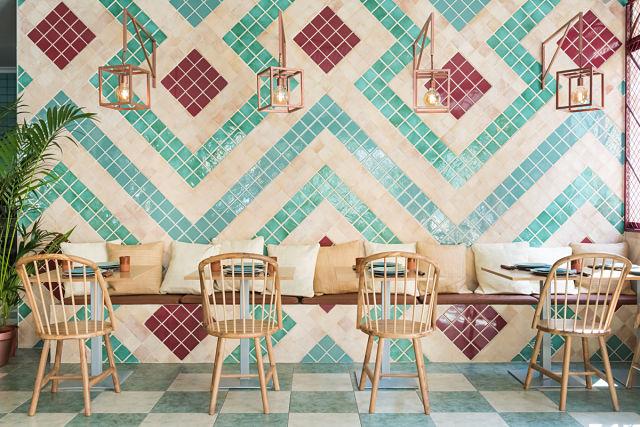 Inspiración en el mobiliario de los restaurantes