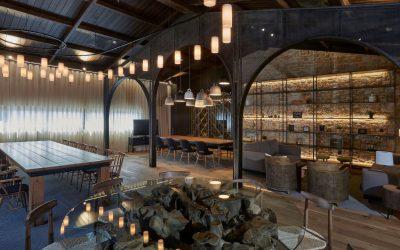 La madera envuelve el rincón gastronómico de Pinturas Isaval