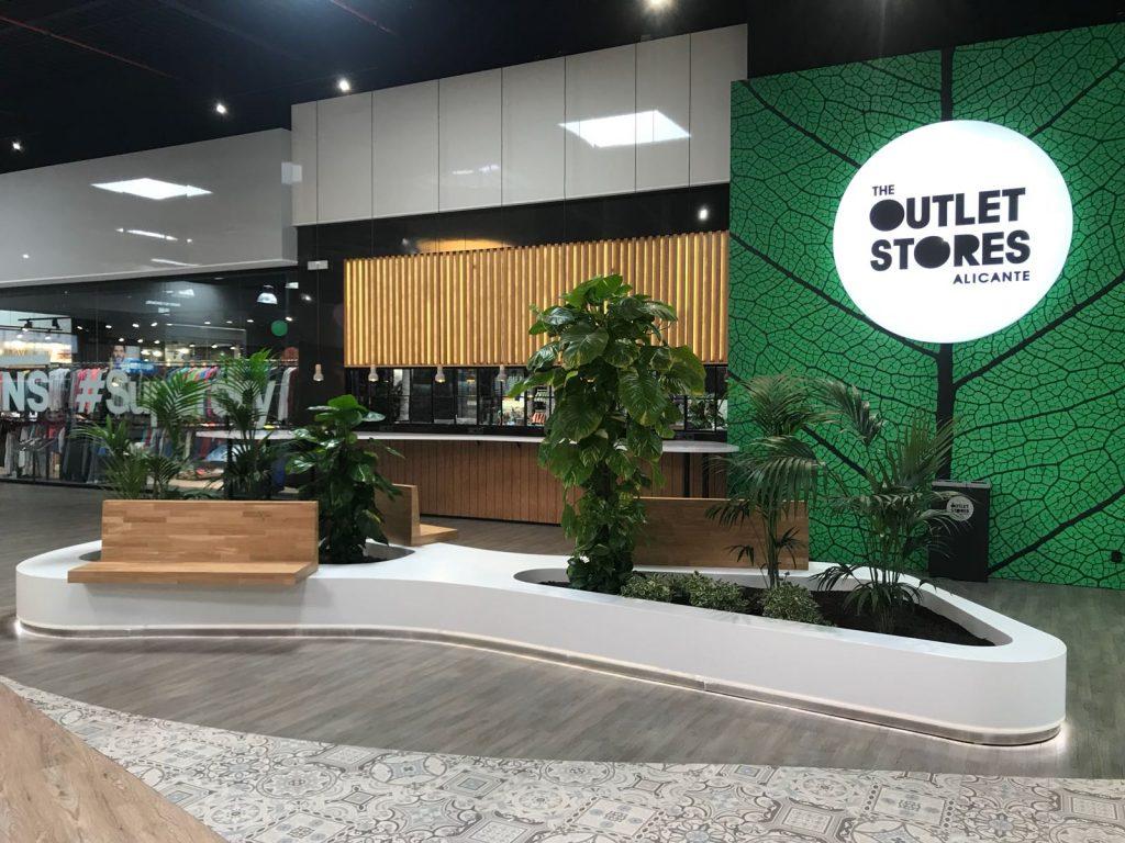 Mobiliario centro comercial the outlet stores - Muebles para centros comerciales ...