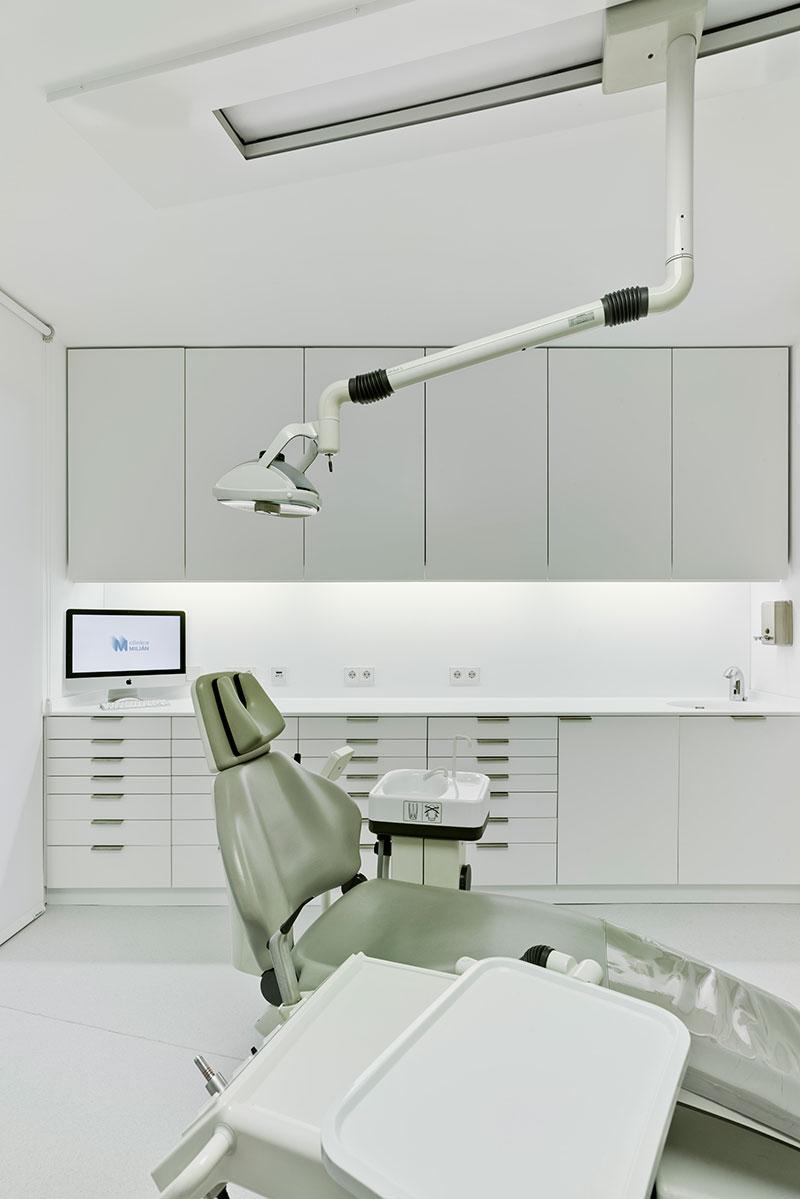 Cl nica dental mobiliario comercial contract y muebles para franquicias - Proyecto clinica dental ...