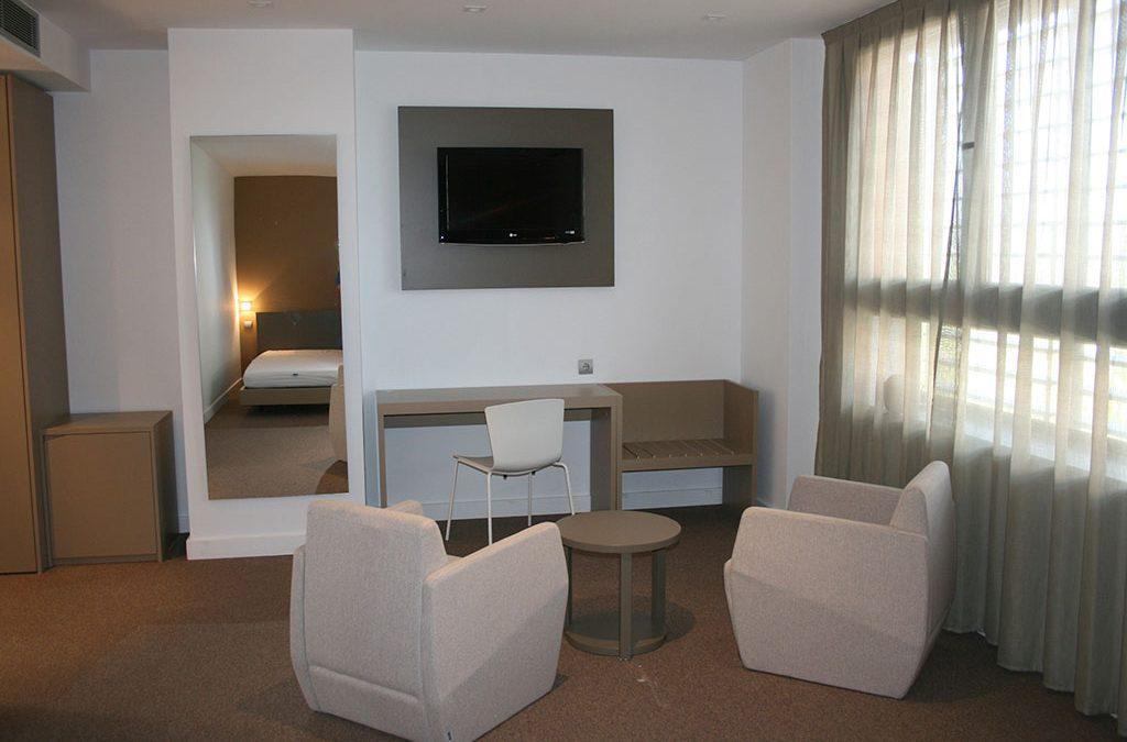 Hotel en la Ciudad del Fútbol