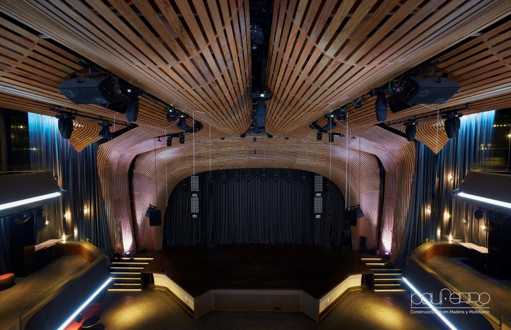 Techo Teatro Condado Dénia
