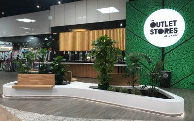 Mobiliario Centro Comercial – The Outlet Stores