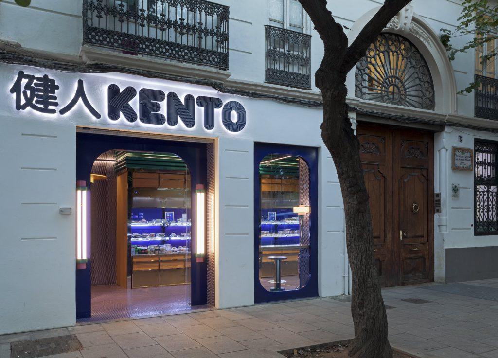 Trabajo Pauferro en Proyecto Kento Sushi
