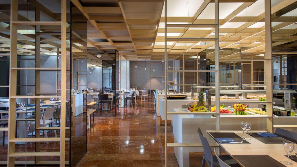 Interior Restaurante Hotel Olympia