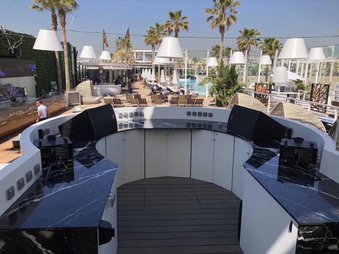 Proyecto Cabina DJ Marina Beach