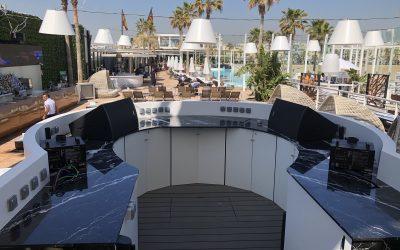 Las noches de fiesta de Marina Beach visten de Pauferro