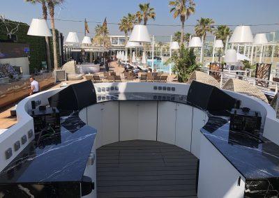 Cabina DJ Marina Beach